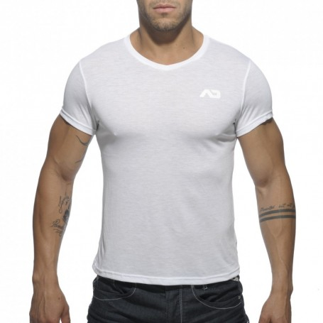 AD423 BASIC V-NECK T-SHIRT