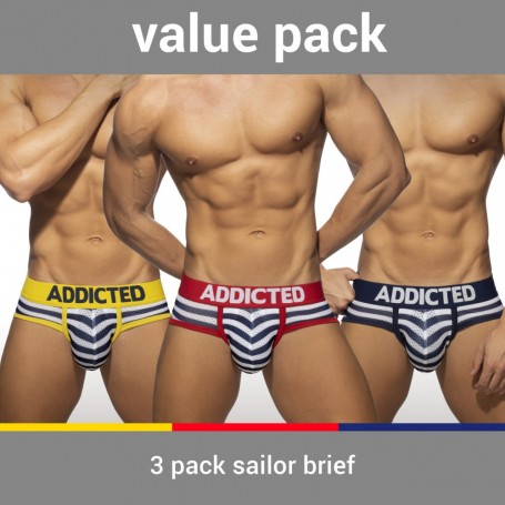AD964P 3 PACK SAILOR BRIEF