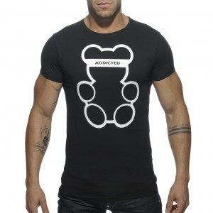 AD424 BEAR ROUND NECK T-SHIRT